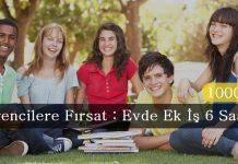 Öğrenciler İçin Evde Ek İş Fırsatları