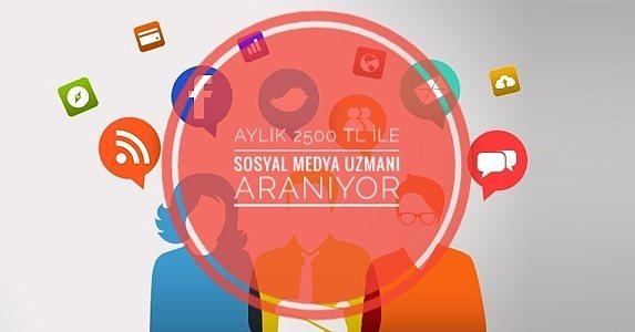 İşim Sosyal Medya Olsun Diyenlere! Sosyal Medya Uzmanları Aranıyor